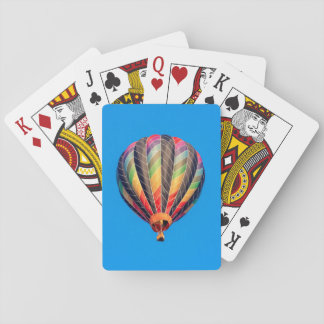Hot Air Balloons Playing Cards