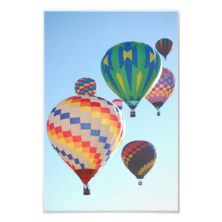 Hot Air Balloons Print Photo
