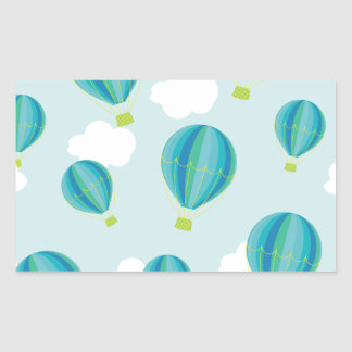 Hot air balloons sticker