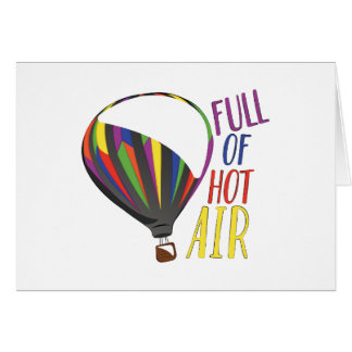 Hot Air Card