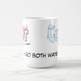 Hot and Cold - I Go Both Ways Coffee Mug