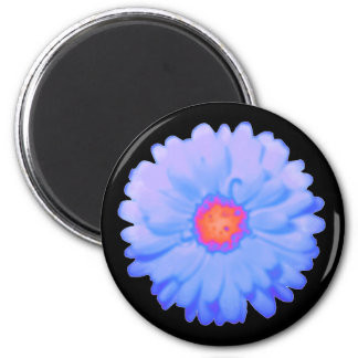 Hot and Cold Marigold Magnet