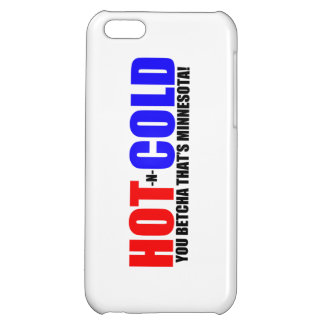 Hot and Cold MN Weather iPhone 5C Covers