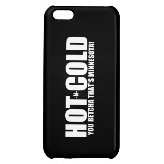 Hot and Cold MN Weather Case For iPhone 5C