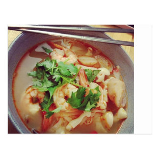 Hot and Spicy Tom Yum Postcard