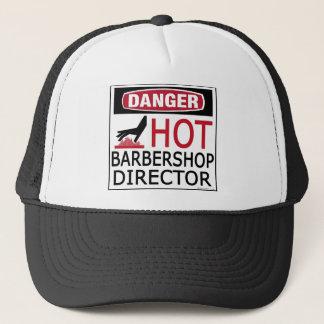 Hot Barbershop Director Trucker Hat