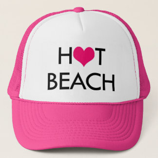 HOT BEACH trucker hat