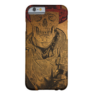 Hot Bones Skeleton Fireman Barely There iPhone 6 Case