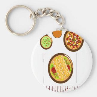 Hot Breakfast Month - Appreciation Day Keychain