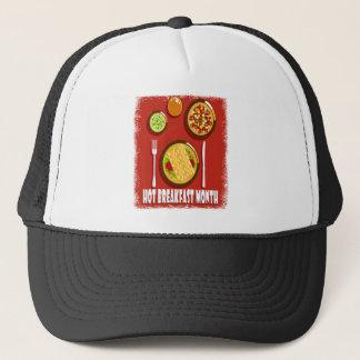 Hot Breakfast Month February - Appreciation Day Trucker Hat