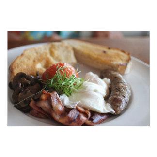 Hot Breakfast Photograph