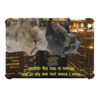 Hot Bulls In The City iPad Mini Case