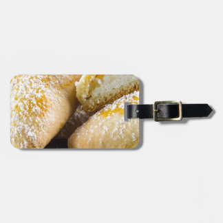 Hot cakes with cheese stuffing luggage tag