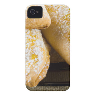 Hot cakes with sweet filling, sprinkled iPhone 4 Case-Mate case