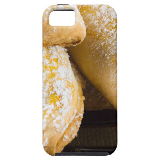 Hot cakes with sweet filling, sprinkled iPhone 5 case