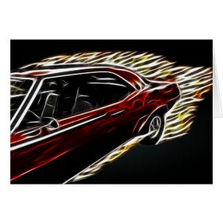 Hot Camaro card