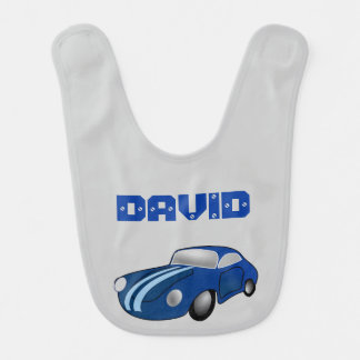 Hot Car Customisable  Baby boy Bib