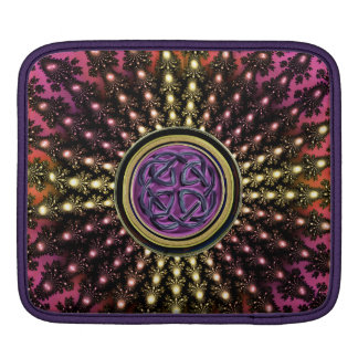 Hot Celtic Fractal Mandala with Knot Sleeves For iPads