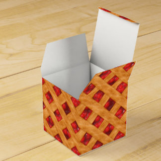 Hot Cherry Pie Favor Box