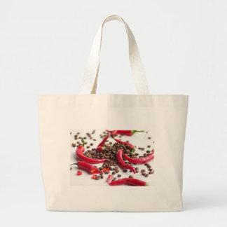 Hot Chili café Canvas Bag