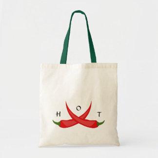 Hot Chili Pepper Tote Canvas Bags