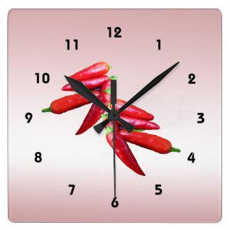 Hot Chili Peppers Clocks