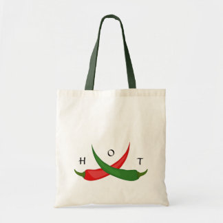 Hot Chili Peppers Tote Budget Tote Bag