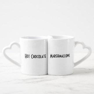 Hot Chocolate and Marshmallows Mug Set