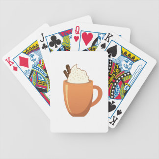 Hot Chocolate Bicycle Playing Cards