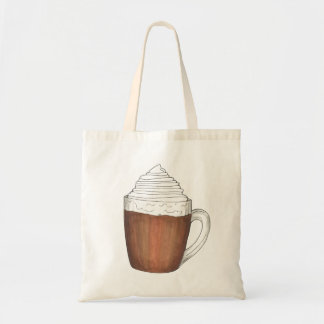Hot Chocolate Cocoa Winter Holiday Christmas Tote