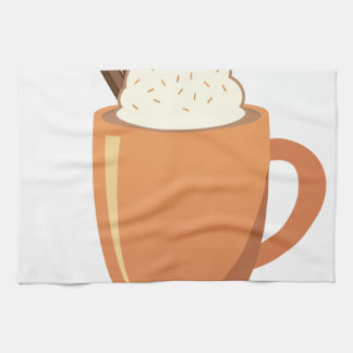 Hot Chocolate Hand Towel