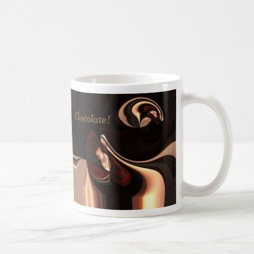 Hot Chocolate Mug Print By ZIZZAGO Mug