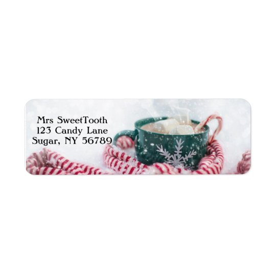 Hot Chocolate Personalized Address Labels