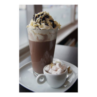 hot chocolate poster