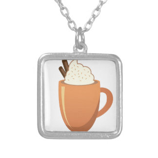 Hot Chocolate Silver Plated Necklace