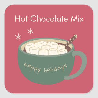 Hot Chocolate Stickers