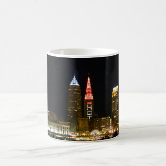 Hot Cleveland Skyline Coffee Mug