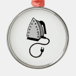 Hot Clothes Iron Metal Ornament