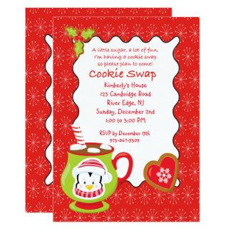 Hot Coco & Cookies Cookie Swap/Exchange Invitation