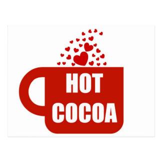 Hot Cocoa Mug Love Postcard