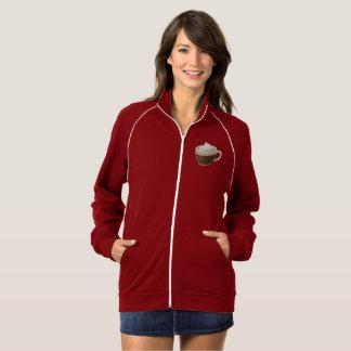 Hot Coffee  Apparel California Fleece Track Jacket