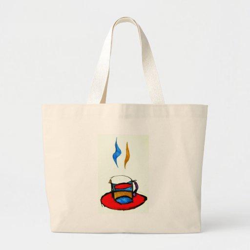 hot coffee bag