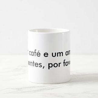 Hot coffee magic mug