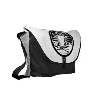 Hot Coffee Messenger Bag-Customizable Commuter Bag