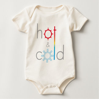 Hot&Cold logo Baby Bodysuit