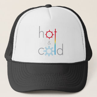 Hot&Cold logo Trucker Hat