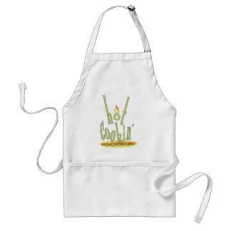 hot cookin rockstar standard apron