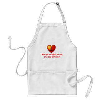 Hot cookin' WIRED chef Standard Apron