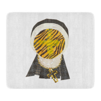 Hot Cross Bun Nun Chopping Board Cutting Boards