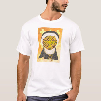 Hot Cross Bun Nun Men's T-Shirt